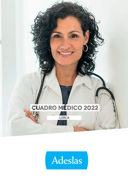 Cuadro médico Adeslas Lorca 2021