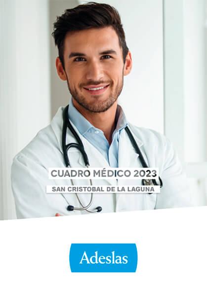 Cuadro médico Adeslas San Cristóbal de La Laguna 2021