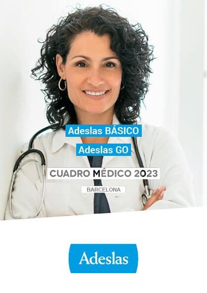 Cuadro médico Adeslas Básico Barcelona 2019 / 2020