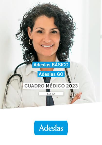 Cuadro médico Adeslas Básico Soria 2019 / 2020