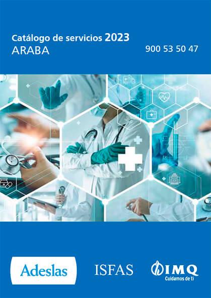 Cuadro médico Adeslas ISFAS Álava 2021