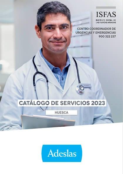 Cuadro médico Adeslas ISFAS Huesca 2019