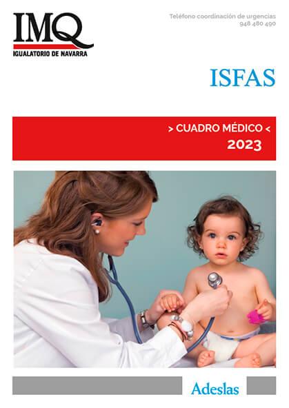 Cuadro médico Adeslas ISFAS Navarra 2020