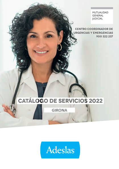 Cuadro médico Adeslas MUGEJU Girona 2019 / 2020