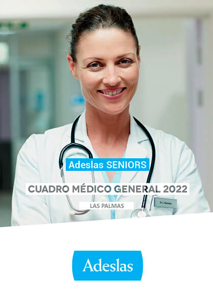 Cuadro médico Adeslas Seniors Las Palmas 2020