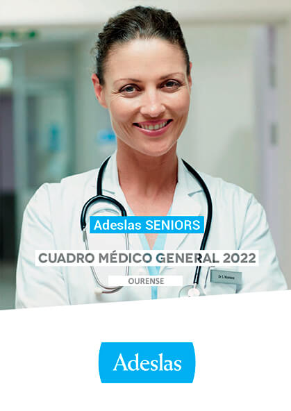 Cuadro médico Adeslas Seniors Ourense 2020