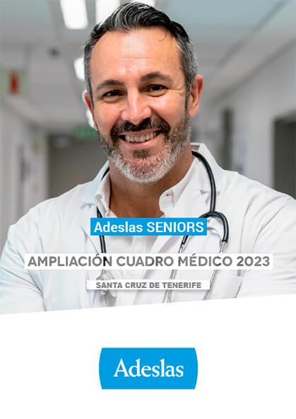 Cuadro médico Adeslas Seniors Santa Cruz de Tenerife 2020 / 2021 Ampliación