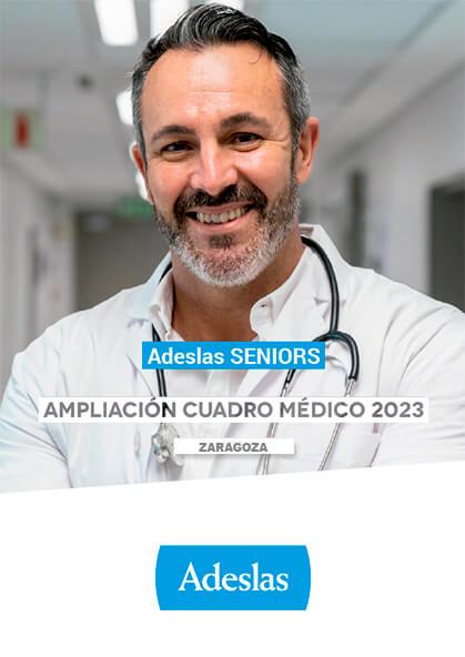 Cuadro médico Adeslas Seniors Zaragoza 2021 Ampliación