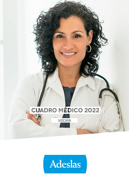 Cuadro médico Adeslas Vizcaya 2020