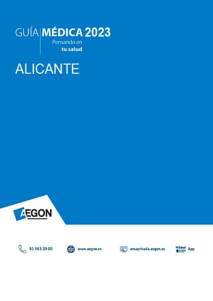 Cuadro médico Aegon Alicante 2020