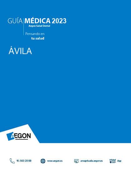 Cuadro médico Aegon Dental Ávila 2019