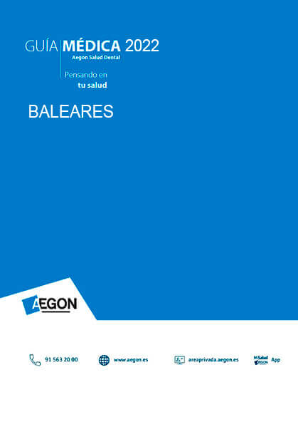 Cuadro médico Aegon Dental Islas Baleares 2019