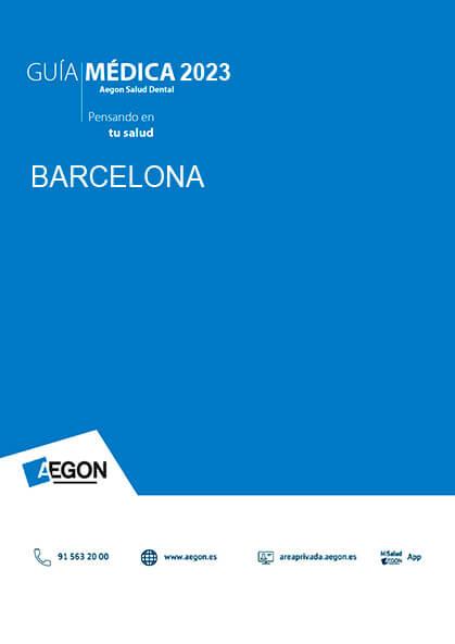 Cuadro médico Aegon Dental Barcelona 2019
