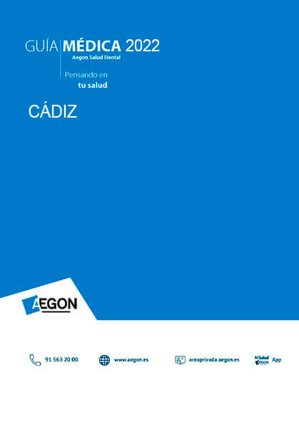 Cuadro médico Aegon Dental Cádiz 2019