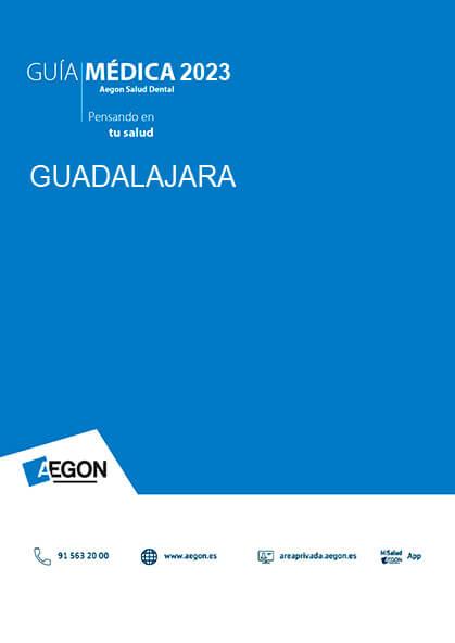 Cuadro médico Aegon Dental Guadalajara 2019