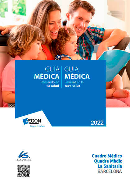 Cuadro médico Aegon La Sanitaria 2021