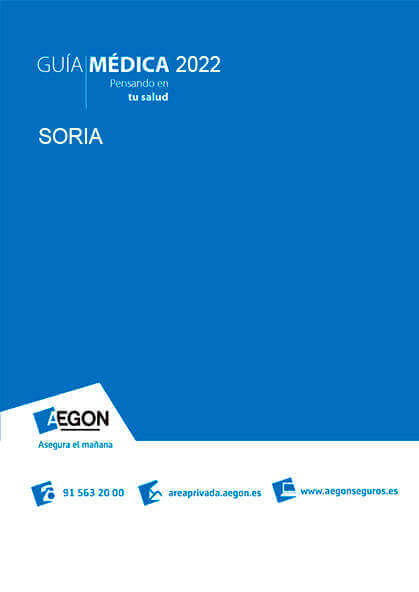 Cuadro médico Aegon Soria 2020