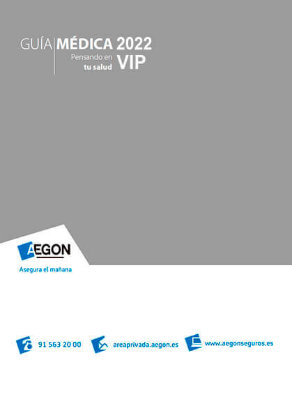 Cuadro médico Aegon VIP 2021