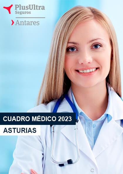 Cuadro médico Antares Asturias 2020