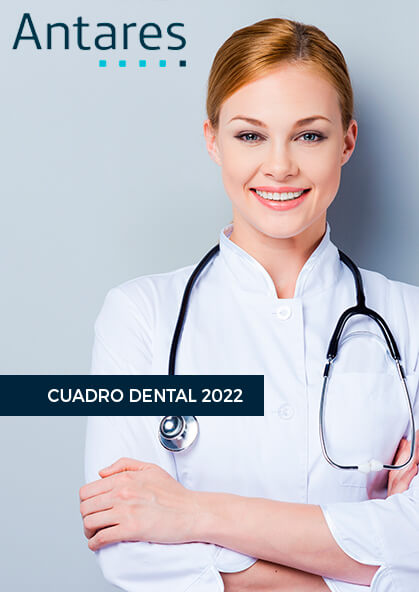 Cuadro médico Antares Dental 2021