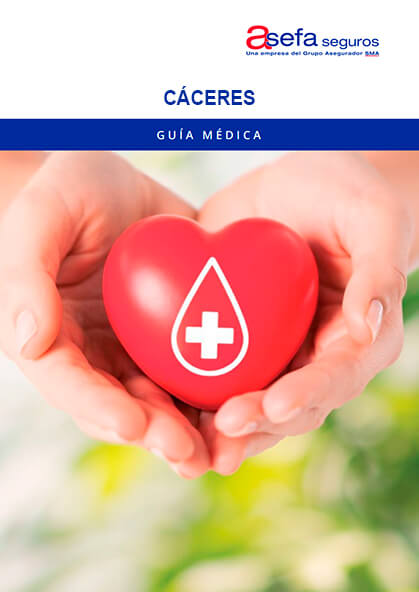 Cuadro médico Asefa Cáceres 2019