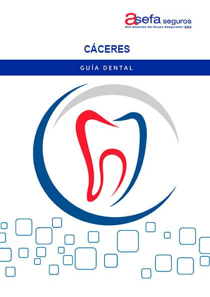 Cuadro médico Asefa Dental Cáceres 2019 / 2020