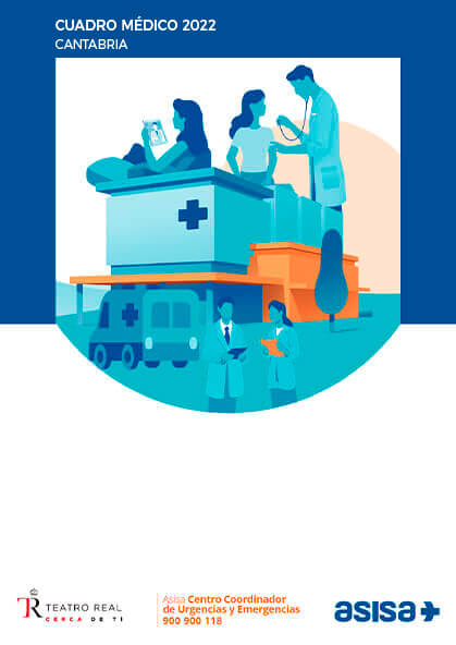 Cuadro médico Asisa Cantabria 2019 / 2020