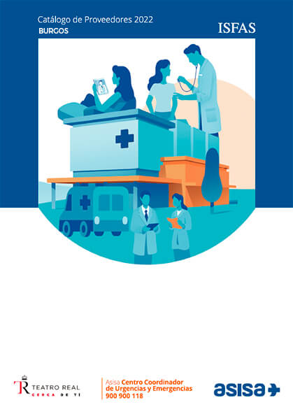 Cuadro médico Asisa ISFAS Burgos 2019