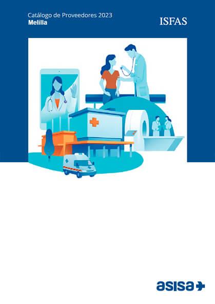 Cuadro médico Asisa ISFAS Melilla 2019