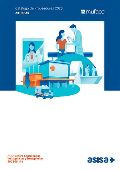 Cuadro médico Asisa MUFACE Asturias 2019