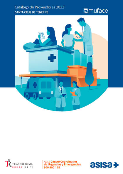 Cuadro médico Asisa MUFACE Santa Cruz de Tenerife 2019