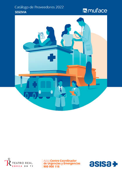 Cuadro médico Asisa MUFACE Segovia 2021