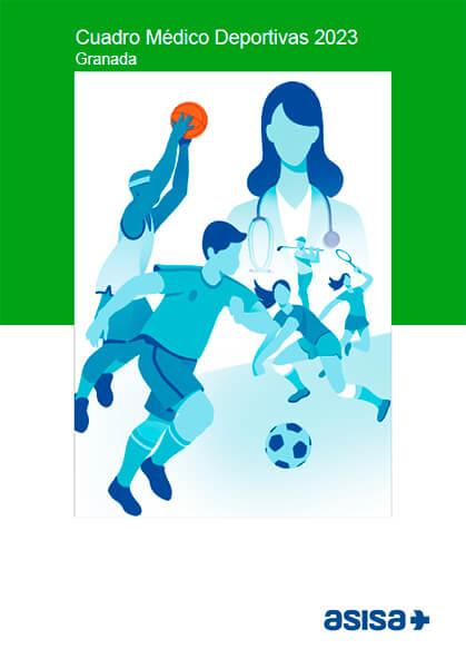 Cuadro médico Asisa Deportivas Selección Granada 2020