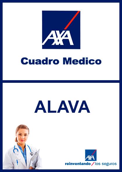 Cuadro médico AXA Álava 2021