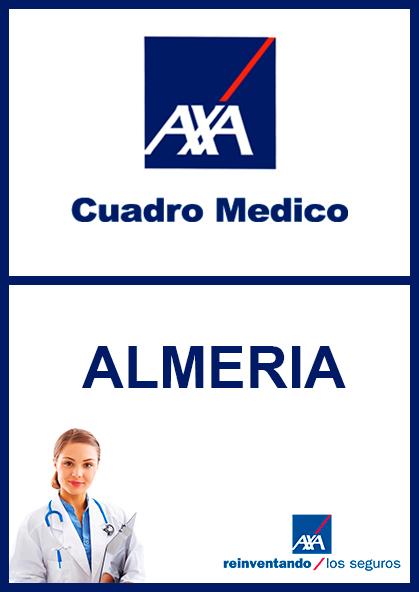 Cuadro médico AXA Almería 2021