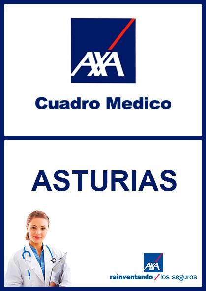 Cuadro médico AXA Asturias 2021