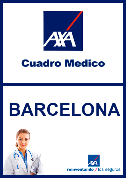 Cuadro médico AXA Barcelona 2021