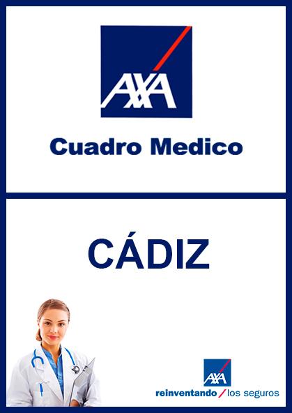 Cuadro médico AXA Cádiz 2020