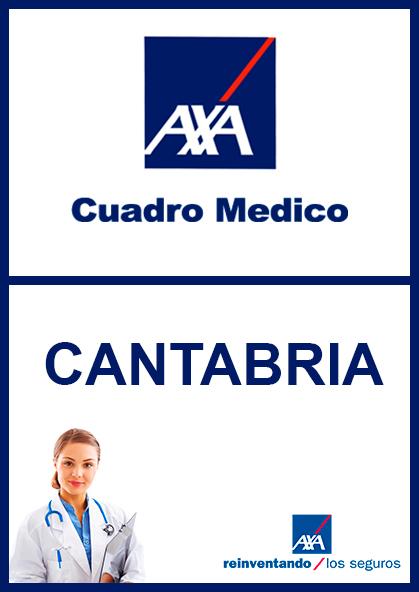Cuadro médico AXA Cantabria 2021