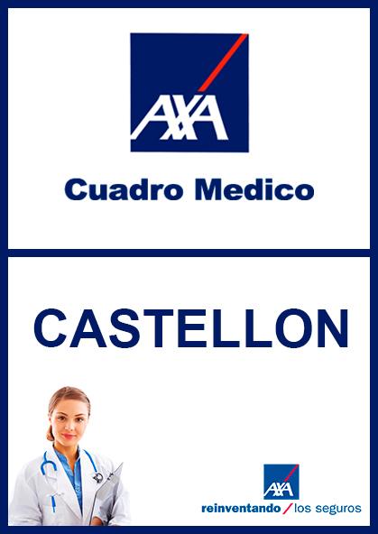 Cuadro médico AXA Castellón 2021