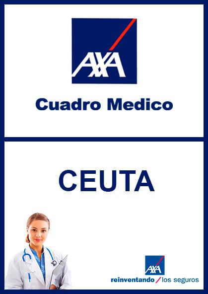 Cuadro médico AXA Ceuta 2021