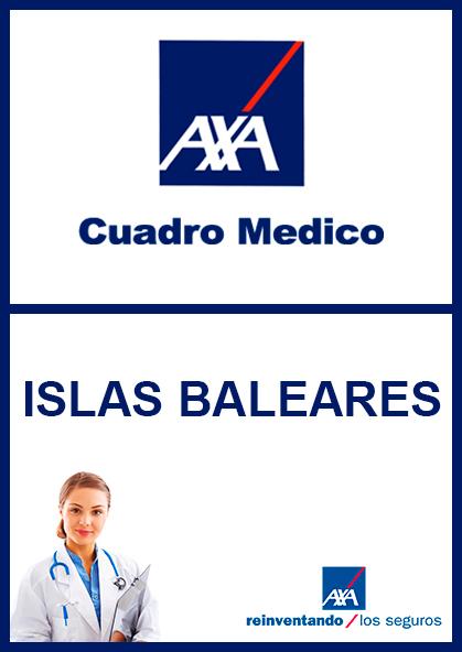 Cuadro médico AXA Islas Baleares 2021