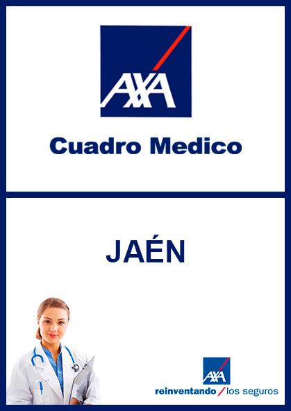 Cuadro médico AXA Jaén 2021