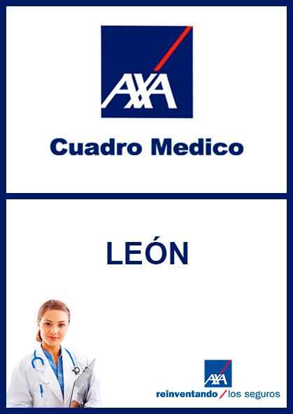 Cuadro médico AXA León 2021