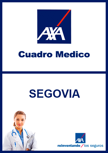 Cuadro médico AXA Segovia 2021
