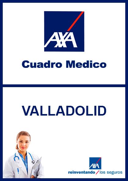 Cuadro médico AXA Valladolid 2021