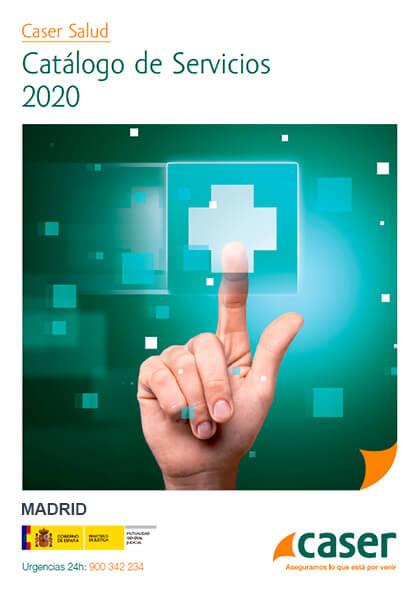 Cuadro médico Caser MUGEJU Madrid 2019 / 2020