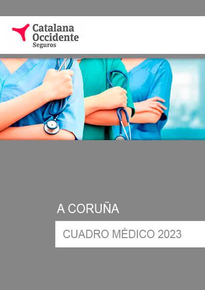 Cuadro médico Catalana Occidente A Coruña 2020