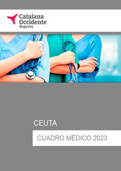 Cuadro médico Catalana Occidente Ceuta 2019 / 2020