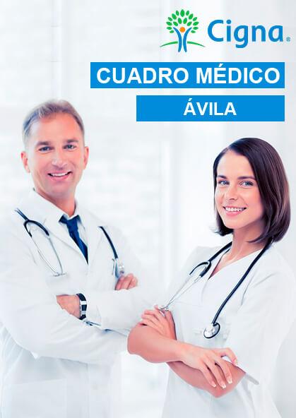 Cuadro Médico Cigna Privado Ávila 2021